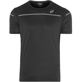 asics Lite-Show Hardloopshirt korte mouwen Heren zwart